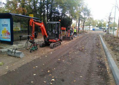 Bestrating aanbrengen Boulevard en Geroplein te Zeist