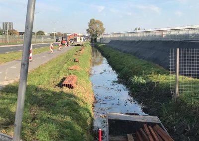 490 meter beschoeiing plaatsen Naaldwijk
