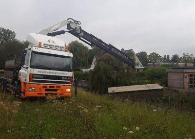 27 meter beschoeiing Hoofddorp
