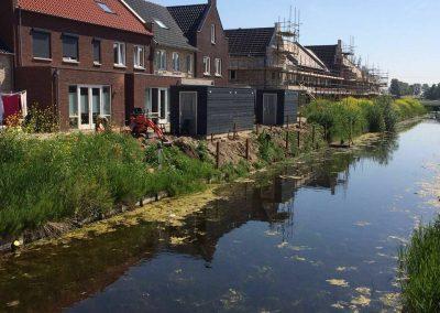 Beschoeiingen + vlonders plaatsen nieuwbouwwijk te Bunschoten – Spakenburg