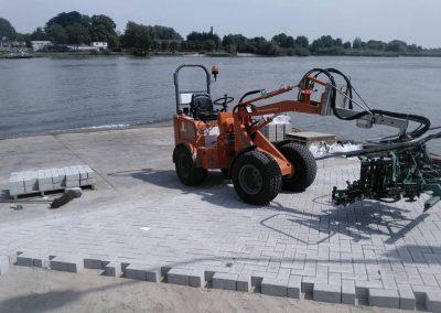 Reconstructie boothelling / toegangsweg veerpont Groot – Ammers / Schoonhoven